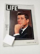"""Vintage 1963 Life Magazine """"President John F. Kennedy 1917 - 1963"""" JFK Issue"""
