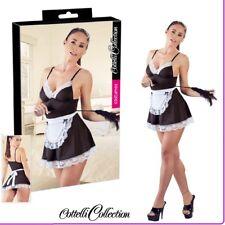 Sexy Lingerie Mini abito Cameriera Sexy Maid Cottelli Costume Travestimento bdsm