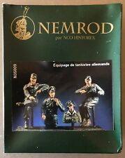 HISTOREX/NEMROD N35009 - EQUIPAGE DE TANKISTES ALLEMANDS - 1/35 RESIN KIT