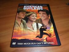 American Outlaws (DVD, Widescreen 2001) Colin Farrell Used (Jesse James)