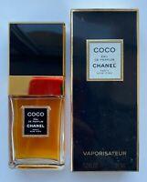 Chanel COCO eau de parfum spray 35 ml 1.2 fl oz VINTAGE