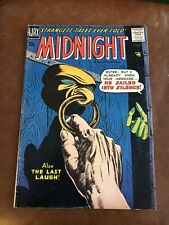 Ajax Midnight Comic Book 1958 Silver Age