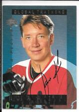 95-96 Be A Player Jari Kurri Auto Autograph Card