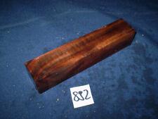Nussbaum Maser Schmuckholz für Holzschmuck Edelholz  155 x 31 x 31 mm   Nr. 892