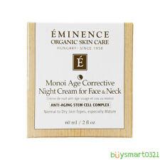 New Eminence Monoi Age Corrective Night Cream for  Face & Neck 60 ml / 2 fl oz