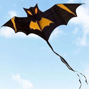 180*80cm Bat Red Kite Outdoor Sports Easy to Fly With Kite Handle+Line For Kids
