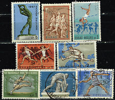 Greece Antic and Modern Sport stamps set 1969