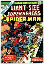 Giant-Size Super-Heroes (1974) #1 Vg 4.0 Spider-Man Vs Morbius and Man-Wolf