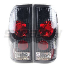 Stealth 1997-2003 Ford F-150 F-250 1999-2007 Ford F-350 Tail Light Black/Clear