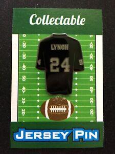 Oakland Raiders Marshawn Lynch jersey lapel pin-Collectible-Beast Mode