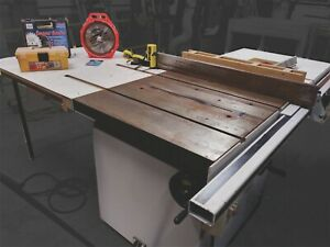 Laguna Circular Table Saw Cast Iron 2003 w/ Woodpeckers Precision Router Lift