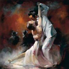 Argentine Tango 1 Latin Dancers Art Print dancing Picture Willem Haenraets