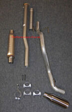 """13 - 15 Toyota Tacoma Cat-back Single Exhaust Side Exit - w/ MagnaFlow 4"""" Round"""