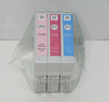 3x Original Epson T0792 T0793 T0796 Cyan, Magenta, Light Magenta