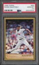 1999 Topps # 95 PEDRO MARTINEZ  Gem Mint PSA 10 Boston Red Sox HOF CY YOUNG