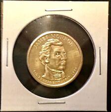 USA • JAMES MONROE 5th PRESIDENT Type 2 GOLD Clad • $1 Coin Circulated