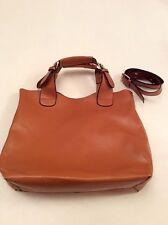 LARGE TAN HAND/ SHOULDER BAG