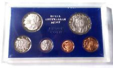 1971 Australian Proof Set, 6 Gem Coins, Scuffs on the Case      MB/DXCS-02,03