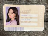 TWICE   NAYEON   <#TWICE2> Japan 2nd album ID card photocard   *OFFICIAL Rare