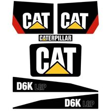 Decal Sticker Set CAT D6K LGP Bulldozer Decal Set