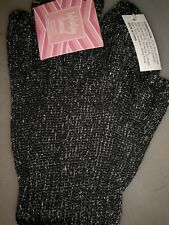 Exfoliating Charcoal Gloves Infused With Bamboo Charcoal Gifts,pamper,spa,bath