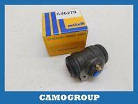 Cylinder Rear Brake Rear Wheel Brake Cylinder Metelli Peugeot 206 306