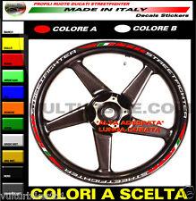 adesivi per ruote ducati streetfighter strisce adesive per cerchi strips wheels