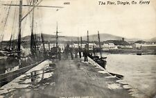 More details for the pier dingle co. kerry ireland valentines postcard postmarhed dingle 1910