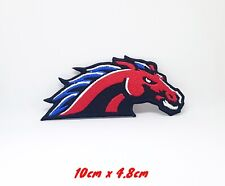 Red Horse Sports Face Embroidered Iron Sew on Patch #024