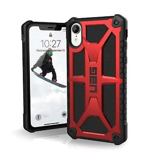 "Case Urban Armor Gear MONARCH UAG Apple iPhone XR 6.1"" - CRIMSON RED"