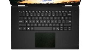 5-pack Matte Black Trackpad Touchpad Vinyl Decal Sticker for Dell XPS 15