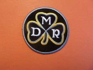 """PITTSBURGH STEELERS """"DAN ROONEY"""" EMBROIDERED IRON ON PATCHES  2-7/8 X 2-7/8"""