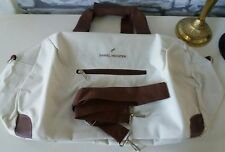NEW !!! DANIEL HECHTER Large Travel, Gym, Holiday Bag Cream and Brown GIFT, XMAS