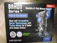 NEW ! Braun Series 7 Pulsonic Men's Cordless Electric Rechargeable Shaver 740S-7