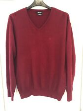 MEN'S XXL REMUS UOMO RED BURGANDY JUMPER S/N131