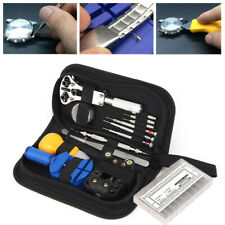 399Pcs Watch Repair Tools Kit Watchmaker Back Case Remover Opener Spring Bar Pin