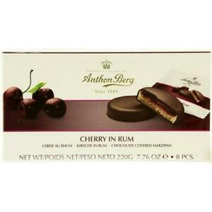 Anthon Berg Cherry in Rum Chocolate Covered Marzipan