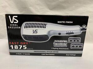 UNUSED Vidal Sassoon VS540 Professional 1875 Watts Blow Styler Hair Dryer (A12)