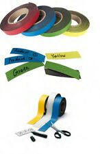 Magnetic Colour PVC Label Available in 7 colours