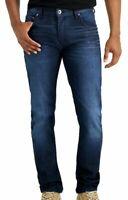 INC Mens Jeans Dark Wash Blue Size 34x32 Stockholm Skinny Stretch Denim $69 121