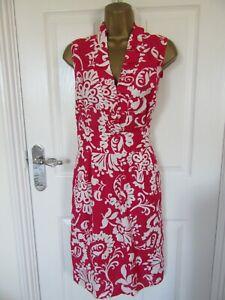 "NWOT Jessica Howard Size uk-16 Lined 55% Linen Shift Dress  Bust 40"""