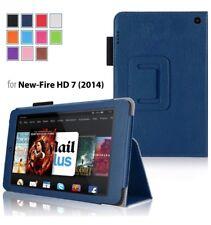 Case for Fire HD 7 - Elsse Premium Folio Case With Stand 2014 Release Dark Blue