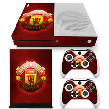 Manchester United FC Xbox One S Console Skin Decal Sticker + 2 Controller Skins