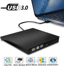 External Dvd Drive Usb 3.0 Cd/Dvd+/-Rw Drive/Dvd Player for Laptop Pc Mac Black