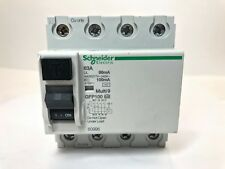 Schneider Electric GFP100 60996 Multi 9 Ground Fault Protector, 63A, 4P, New