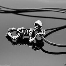 Personality pirates of the Caribbean skull pendant