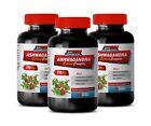 energy pills - ASHWAGANDHA ROOT COMPLEX 770mg - anti depressant - 3 Bottles