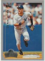 1999 Topps Opening Day #48 Derek Jeter card, New York Yankees