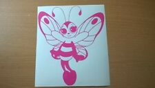 XLARGE butterfly girls girly pink vinyl car bonnet side sticker graphic decal vw