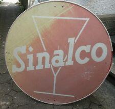 großes Reklameschild Holzfaserplatte Sinalco